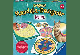 RAVENSBURGER Midi Mandala-Designer Lama Schablonen Mehrfarbig