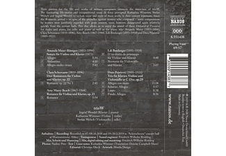 Triow - UNHEARD-OF TREASURES - MUSIC BY FEMALE COMPOSERS  - (CD)