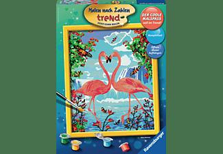 RAVENSBURGER Flamingo Love Malset Mehrfarbig