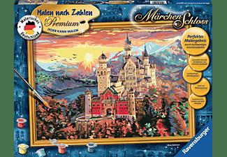 RAVENSBURGER Märchenschloss Malset Mehrfarbig