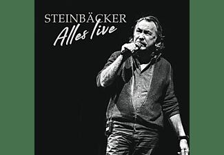 Gert Steinbäcker - Alles live  - (CD + DVD Video)