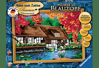RAVENSBURGER 28905 Mühle am Blautopf Malset Mehrfarbig