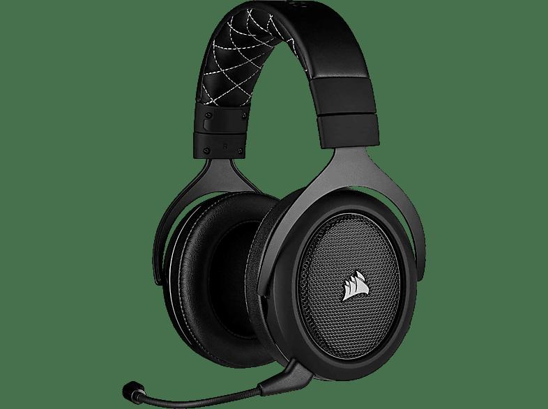 CORSAIR HS70 PRO, Over-ear Gaming Headset Schwarz Carbon