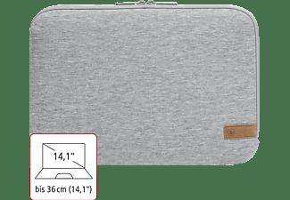 HAMA Jersey 14.1 Zoll Notebook-Sleeve für Universal Jersey, Hellgrau