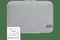 HAMA Jersey 13.3 Zoll Notebooktasche Sleeve für Universal Jersey, Hellgrau