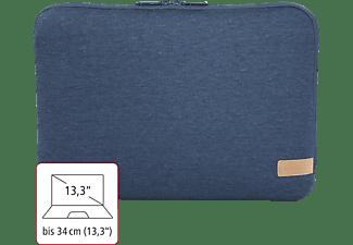 HAMA Jersey 13.3 Zoll Notebooktasche Sleeve für Universal Jersey, Blau