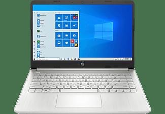 HP 14s-fq0370ng, Notebook mit 14 Zoll Display, Ryzen 7 Prozessor, 16 GB RAM, 1 TB SSD, AMD Radeon Grafik, Silber