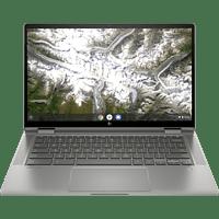 HP x360 14c-ca0350ng, Chromebook mit 14 Zoll Display Touchscreen, Core™ i5 Prozessor, 8 GB RAM, 128 GB eMMC, Intel® UHD Grafik, Silber