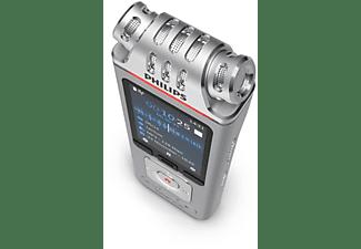 PHILIPS DVT 4110 Diktiergerät, Silber/Chrom
