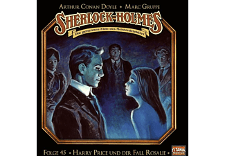 Holmes Sherlock - Folge 45-Harry Price U.D.Fall Rosalie  - (CD)