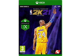 NBA 2K21 Mamba Forever Edition FR/NL Xbox Series