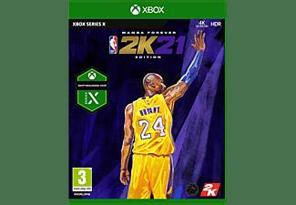NBA 2K21 Mamba Forever Edition NL/FR Xbox Series