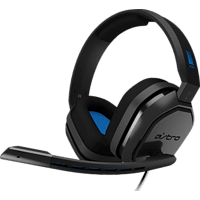 ASTRO GAMING A10 for PS4 & PS5, Over-ear Gaming Headset Grau/Blau