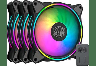 COOLER MASTER Lüfter MasterFan MF120 Halo, 120mm, 3er-Pack, LED-Steuerung (MFL-B2DN-183PA-R1)