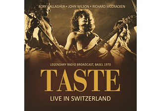 Taste feat. Rory Gallagher - Live in Switzerland 1970  - (CD)