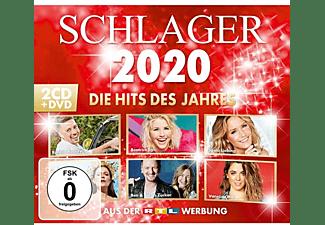 VARIOUS - SCHLAGER 2020 - DIE HITS DES JAHRES  - (CD + DVD Video)