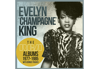 """Evelyn """"Champagne"""" King - THE RCA ALBUMS 1977-1985 (8 CD BOX SET)  - (CD)"""