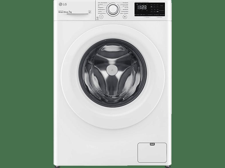 LG F14WM7LN0E Waschmaschine 7 kg, 1360 U Min., D