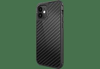 BLACK ROCK Robust Real Carbon, Backcover, Apple, iPhone 12 mini, Schwarz