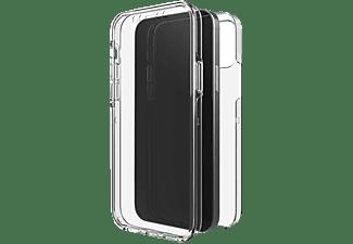 BLACK ROCK 360° Clear, Full Cover, Apple, iPhone 12 mini, Transparent
