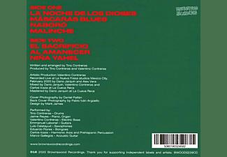 Tino Contreras - LA NOCHE DE LOS DIOSES  - (CD)