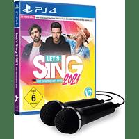 Let's Sing 2021 mit deutschen Hits [+ 2 Mics] - [PlayStation 4]