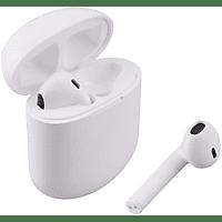 ISY ITW 1000, In-ear Kopfhörer Bluetooth Weiß