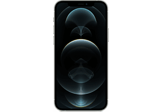 APPLE iPhone 12 Pro 5G 128 GB Silber Dual SIM