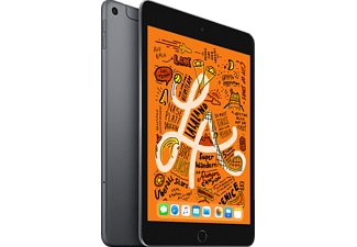 APPLE iPad mini (2019) WiFi + Cellular, Tablet, 64 GB, 7,9 Zoll, Space Grey