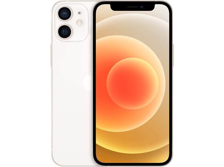 APPLE iPhone 12 mini 128 GB Weiss Dual SIM