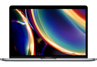 APPLE MWP42D/A MacBook Pro, Notebook mit 13,3 Zoll Display, Intel® Core™ i5 Prozessor, 16 GB RAM, 512 GB SSD, Intel Iris Plus Grafik, Space Grau