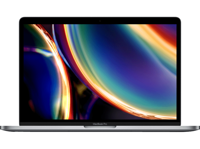 APPLE MWP42D A MacBook Pro, Notebook mit 13,3 Zoll Display, Intel Core i5 Prozessor, 16 GB RAM, 512 SSD, Intel Iris Plus Grafik, Space Grau