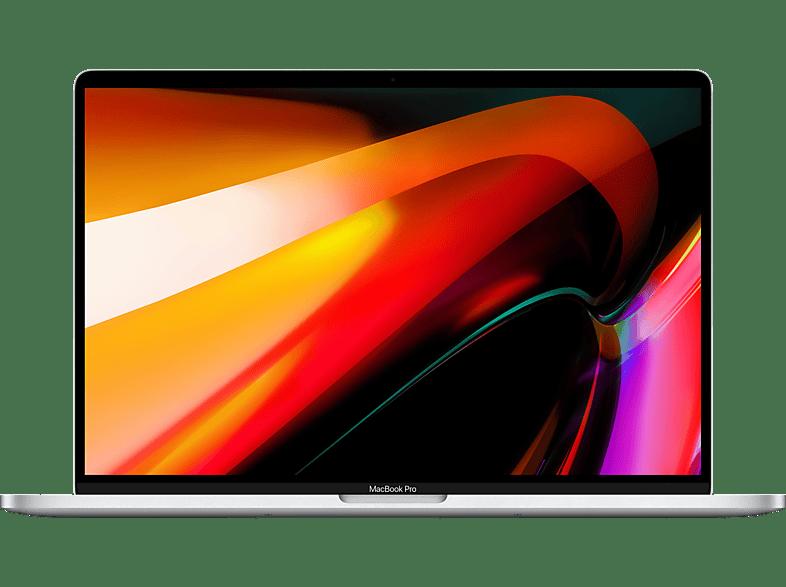 APPLE MVVL2D A MacBook Pro, Notebook mit 16 Zoll Display, Intel Core i7 Prozessor, GB RAM, 512 SSD, Radeon Pro 5300M, Silber