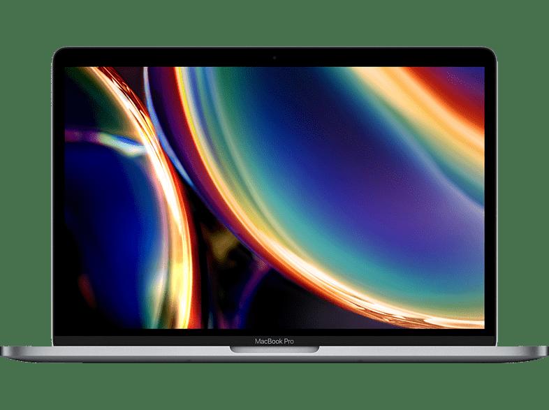 APPLE MWP52D A-3887146 MacBook Pro, Notebook mit 13,3 Zoll Display, Intel Core i5 Prozessor, 16 GB RAM, 1 TB SSD, Intel Iris Plus Grafik, Space Grau
