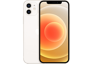 "Apple iPhone 12, Blanco, 256 GB, 5G, 6.1"" OLED Super Retina XDR, Chip A14 Bionic, iOS"