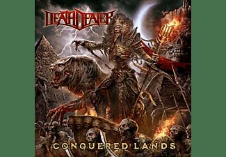 Death Dealer - CONQUERED LANDS (LIM.GTF.BLACK/WHITE SPLATTER)  - (Vinyl)