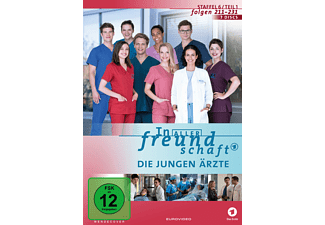 In aller Freundschaft - Die jungen Ärzte - Staffel 6, Teil 1, Folgen 211 - 232 DVD