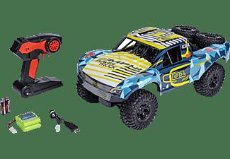 CARSON 1:10 Amphi Pow.Truck 2.4G 100% RTR Spielzeugmodell, Gelb