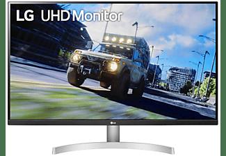 "Monitor - LG 32UN500-W, 31.5"", UHD 4K, IPS, FreeSync, 4 ms, 60 hz, 2x HDMI,1x DP, Blanco"