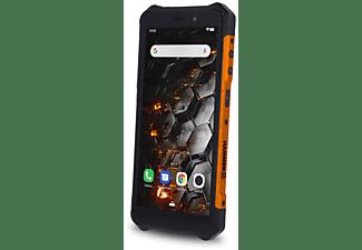 """Móvil - Hammer Iron 3 LTE, Naranja, 32 GB, 3 GB RAM, 5.5"""" HD, IP68, MT6763, 4400 mAh, Android"""