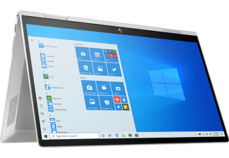 HP ENVY x360 15-ed1357ng, Convertible mit 15,6 Zoll Display, Core i5 Prozessor, 12 GB RAM, 512 GB SSD, Iris Xe Grafik, Silber