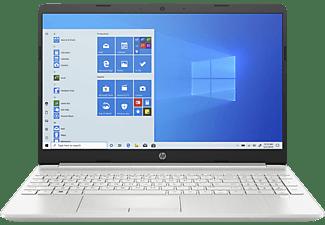 HP 15-dw1373ng, Notebook mit 15,6 Zoll Display, Intel® Core™ i7 Prozessor, 8 GB RAM, 256 GB SSD, 1 TB HDD, Intel® UHD Grafik, Silber