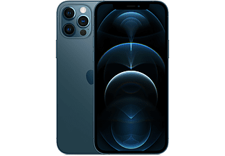 """Apple iPhone 12 Pro, Azul pacífico, 512 GB, 5G, 6.1"""" OLED Super Retina XDR, Chip A14 Bionic, iOS"""