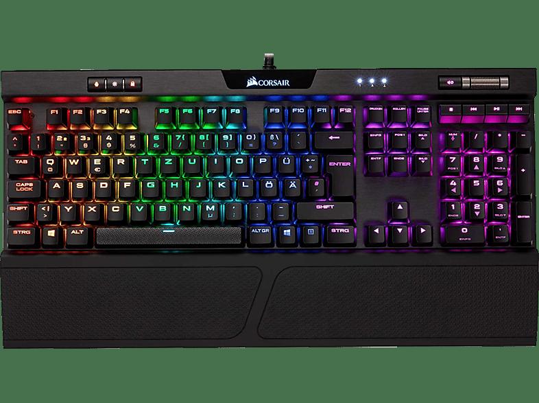 CORSAIR K70 RGB MK.2 RAPIDFIRE, Cherry MX Speed-Tasten, Gaming Tastatur, Mechanisch, Sonstiges