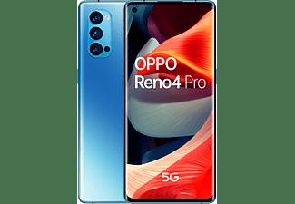 "Móvil - OPPO Reno 4 Pro 5G, Azul, 256 GB, 12 GB, 6.5"" Full HD+, Qualcomm Snapdragon 765G, 4000 mAh, Android"