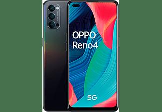 "Móvil - OPPO Reno 4 5G, Negro, 128 GB, 8 GB, 6.4"" FHD+, Qualcomm Snapdragon 765G, 4000 mAh, Android"