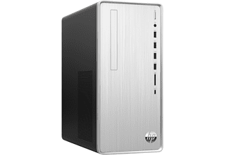 PC Sobremesa - HP Pavilion TP01-1005ns, Intel® Core™ i5-10400, 8GB, 512GB SSD, UHD Graphics 630, W10, Plata