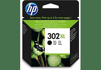 Cartucho de tinta - HP 302 XL, Negro, F6U68AE