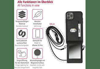 HAMA Mirror, Umhängetasche, Apple, iPhone 12/12 Pro, Schwarz