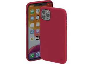 HAMA Finest Feel, Backcover, Apple, iPhone 12/12 Pro, Rot